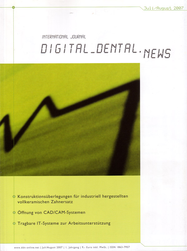 DIGITAL_DENTAL.NEWS Juli/ August 2007